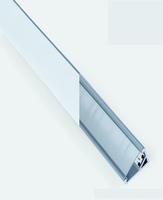 2m Clear Diffuser for Triangle Profile | LV1202.0235
