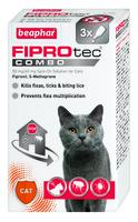 Beaphar FIPROtec COMBO Cat Spot On 3 Tube x 1