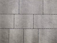 MANORSTONE MIXED 4-SIZE PACK PAVING 50MM SLAB BLACKWATER ** (MUST BE SOLD BY THE PACK) ** 8.40 sq.mtrs ** STOCKED **