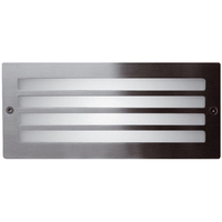 ANSELL 40W E27 Grill Bricklight Stainless Steel