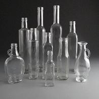Glass Sauce & Oil Bottles