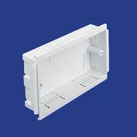 STER TRUNKING TWIN GANG BOX