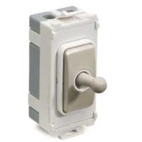 Schneider Ultimate Screwless Grid Intermediate Toggle White|LV0701.1077