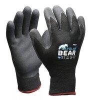 Polar Bear Thermo Winter Gloves Grey/Black Pkt 12
