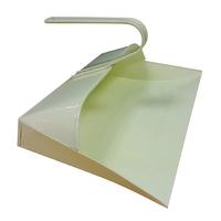 Leecroft Metal Hooded Dustpan Cream