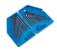 Hex Key Set - Af Long & Metric Short 30 Pieces