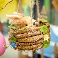 Easter Rabbit in Nest