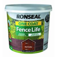 One Coat Fence Life 5L Red Cedar