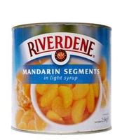 Mandarin Segments in Syrup Riverdene 6x3kg