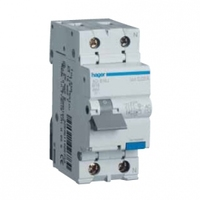 Hager AD975J RCBO 25A 30mA Type C
