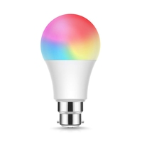 9W WIFI Smart LED RGB+W+WW B22 Bulb