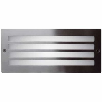 Ansell Grill Recessed Bricklight Stainless Steel | LV1002.0014