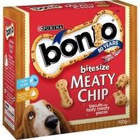 Bonio Meaty Chip Bitesize 400g x 5