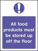 Food Processing and Hygiene Sign FOOD0011-0600