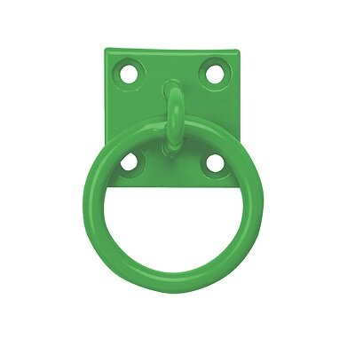 Chain Ring on Plate - Green x 10