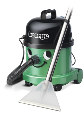 Numatic Gve370 George 3-In-1 Cylinder Wet & Dry Vacuum Cleaner (Shampoo Function)
