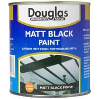DOUGLAS MATT BLACK PAINT 250ML