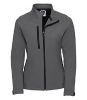 J140F Ladies Grey Elite Softshell Jacket