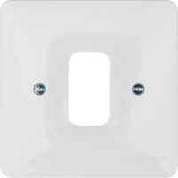 1G White Moulded Plate | LV0301.0615