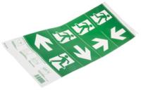 ISO7010 format self adhesive legend kit for Zetalite 3 20mt