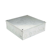 9x9x4 Galv. KO Adaptable Box