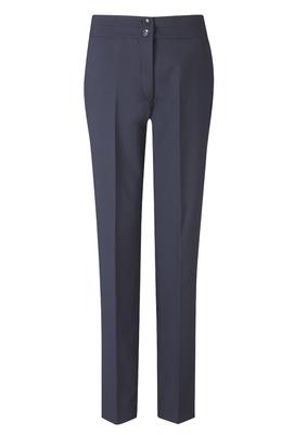 Navy Carla Ladies Slim Leg Trouser