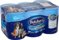 Butchers Cans Surf & Turf Loaf 400g 6-pk x 4