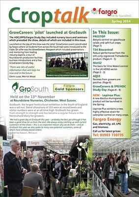 Crop Talk Spring 2014