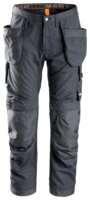 "SNICKERS 6201 ALLROUND WORK HOLSTER POCKET TROUSERS 054 STEEL/GREY (W38"" X L32"")"
