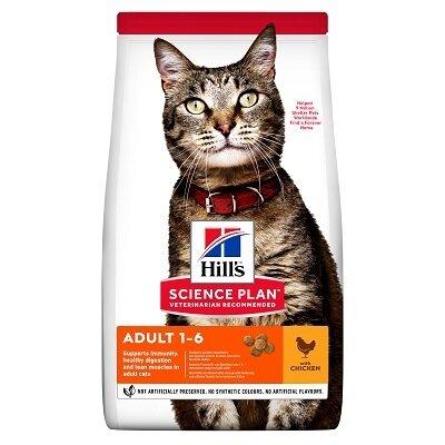 Hills Science Plan Feline Adult Cat Chicken 15kg