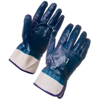 NITRILE HEAVYWEIGHT FULL DIP GLOVES