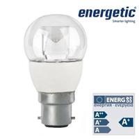 Energetic Frosted Mini Globe 5W B22 2700K | LV1503.0017