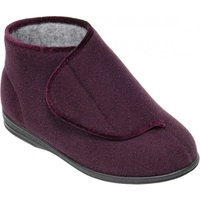 Cosyfeet Plum Boot Slipper (Eliza)
