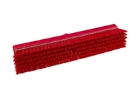 Resin-Set DRS® Stiff 457mm Flat Sweeping Broom RED