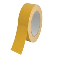 FAITHFULL FAI TAPEDS 25Mtr X 50mm H/D DOUBLE SIDED TAPE