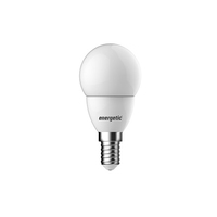 Energetic Mini Globe Frosted 5.6wE14 / SES