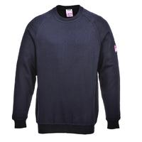 Portwest Flame Retardant Antistatic Sweatshirt Navy