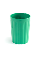 Tumbler Fluted Polycarbonate 8oz Green