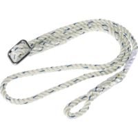 Delta Plus EX021 12mm Adjustable Work Positioning Lanyard 2 Metre