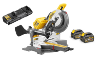 DEWALT DHS780T2 54V XR FLEXVOLT 300mm MITRE SAW (DeWALT Special Discount Price)3800rpm 303x110mm cutting capacity 300x30mm blade 25.5kg c/w DCB118 fast charger 2 x DCB546 6.0ah Li-ion FLEXVOLT BATTERIES