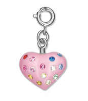 CHARM IT Multi Heart Charm. (Priced in singles, order in multiples of 6)