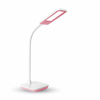 7W LED Table Lamp 3 in 1 Dimmable Pink Body