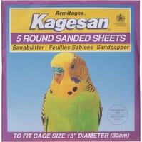 "Kagesan Sandsheets Round - Purple 13"" x 12"