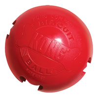 KONG Rubber Biscuit Ball - Small x 1