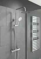 Round Thermostatic Shower Kit
