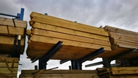 2.4m x 150mm x 150mm Timber Gate Post 4 Way