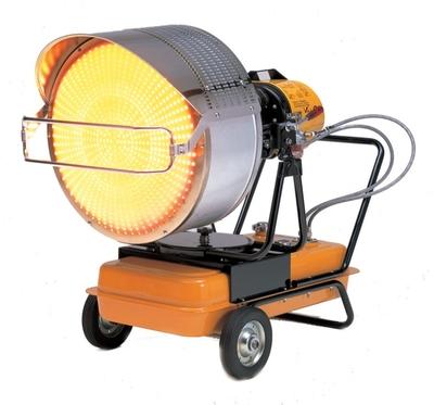 VAL 6 EP6JA Infrared Diesel/Kerosene Heater