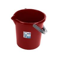 Casa 16L Bucket Chilli Red