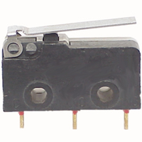 Switch   Micro Switch  Mini 3 Pins SPDT with level 5A 125VAC
