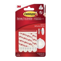 Command Medium Adhesive Mounting/Replacement Strips 10pk 17021UKN